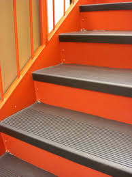 rubber flooring stairs designs