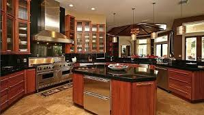 Plan MJ  Chateau Masterpiece   Kitchens  Cherry Kitchen and    Plan W MJ  Photo Gallery  French Country  Premium Collection  European  Luxury  Corner Lot  Mediterranean House Plans  amp  Home Designs