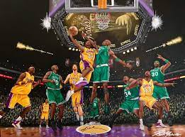 Lakers vs Celtics 2010 by whatevah32 on DeviantArt | Lakers vs celtics,  Lakers, Black mamba