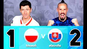 ไฮไลท์ฟุตบอลเมื่อคืน ผลการแข่งขัน โปแลนด์ vs สโลวาเกีย ยูโร2020 - ASEAN24