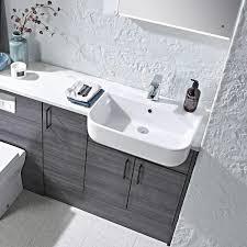 roper rhodes cover 560mm semi countertop basin bathroom sinks sanctuary bathrooms
