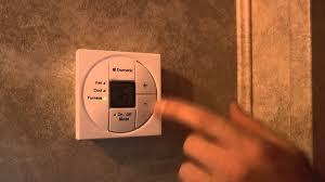 crusader rv dometic thermostat demo crusader rv dometic thermostat demo