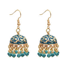 Big Offer #a3f9 - Egypt Thailand Gold Resin Beaded Statement ...