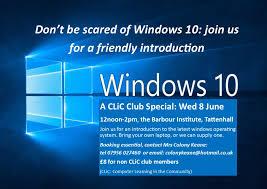 Tattenhall Online Windows 10 Workshop