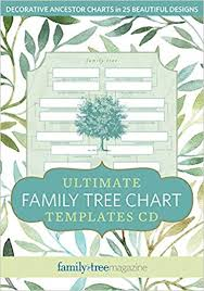 How To Make Family Tree On Chart Paper Ultimate Family Tree Chart Templates Cd Family Tree Editors