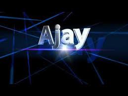 ajay name logo animation you