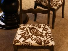upholstered dining room chairs diy. how to re-cover a dining room chair upholstered chairs diy