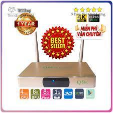Android TV Box Q9S XEM VIDEO 4K kết nối chuẩn cho tv đời cũ- tv thường  [ĐƯỢC KIỂM HÀNG] 42328255 - 42328255   Android TV Box, Smart Box