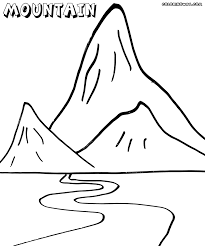 Small Picture Mont Blanc Mountain Coloring Pages At Page For itgodme