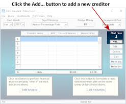 Rapid Debt Repayment Plan How Zilch Works Step 2 Data Entry