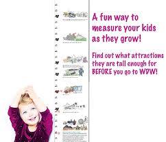 Disney World Height Restrictions Chart Walt Disney World Height Requirements Am I Tall Enough