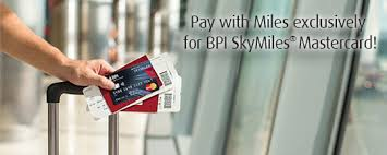 Skymiles Conversion Chart Pay With Miles With Your Bpi Skymiles Mastercard