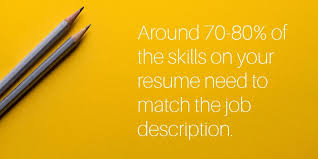 keyword skills that match a job descrition skill set in resume examples