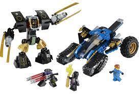 LEGO 70723 Biệt Đội Sấm Sét - Đồ chơi LEGO cho bé