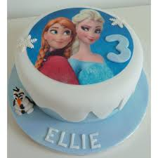 Frozen Theme Cake 01 2kg In Bangalore Buy Cakes Online In