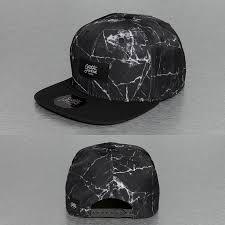 sixth june cap snapback marbre in black men sixth june leather jacket top brands