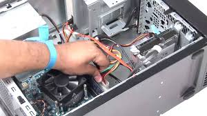 how to replace a power supply in dell desktop
