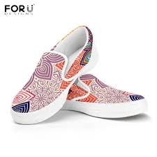 Floral Design Shoes For Ladies Hot Offer 78110 Forudesigns Colorful Floral Mandalas