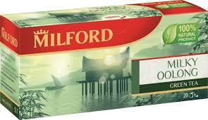 <b>Milford</b> Молочный оолонг <b>зеленый чай</b> в пакетиках, 20 шт ...