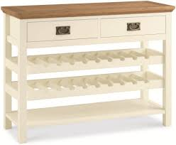 wine rack console table. Bentley Designs Provence Two Tone 2 Drawer Console Table With Wine Rack I