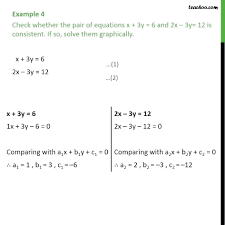 solve the equation for the indicated variable math example 4 check whether equations x 6 and