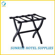 hotel luggage rack. Solid Wood Foldable Luggage Rack For Hotel H