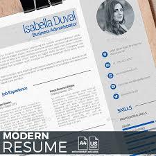 Resume Modern Ex Resume Templates Modern Resume Template Psd Indesign Indd