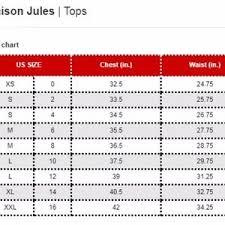 Maison Jules Size Chart Maison Jules Tailored Button Detail Blazer Blue Xs Boutique