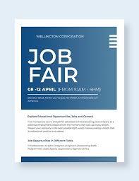 Flyer Jobs 14 Job Flyer Designs Templates Psd Ai Free Premium