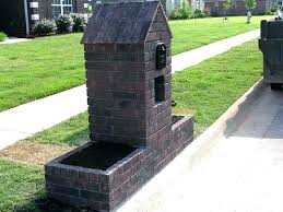 mail box post design delightful mailbox ideas within other brick designs mailbox post design ideas n75 design