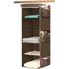 sturdy hanging closet organizer. Wonderful Closet Simple Houseware 5 Shelves Hanging Closet Organizer Bronze With Sturdy Organizer I