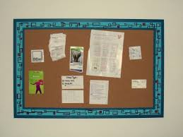 interesting turquoise frame cork bulletin board and home accessories with home office interior design bulletin board ideas office