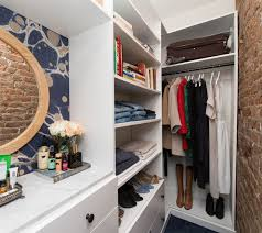 tiny walk in closet in manhattan home