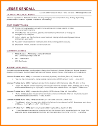 9 Licensed Practical Nurse Resume Samples Budgets Examples
