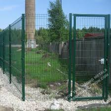 3D Welded Wire Mesh Fence Gate China Manufacturer
