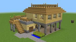 Minecraft Building Designs Step By Step Minecraft How To Build A Survival House Minecraft Barn