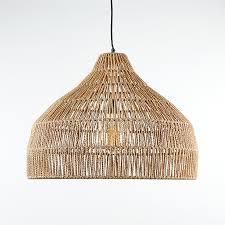 cabo large woven pendant light