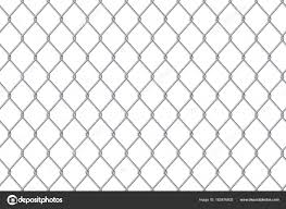 Creative vector illustration of chain link fence wire mesh steel
