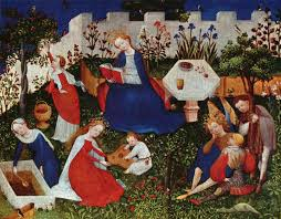 the frankfurt parasgärtlein a german panel painting from circa 1410
