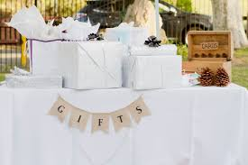 wedding gift etiquette can i bring a gift to the wedding southern living