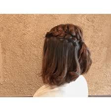 ボブでもショートでもお呼ばれアレンジ Achieve Hair Design