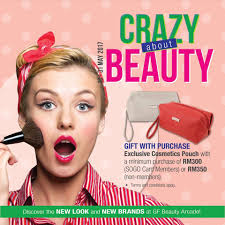 sogo kl crazy about beauty promotion beauty cosmetic cosmetic makeup perfume in msia