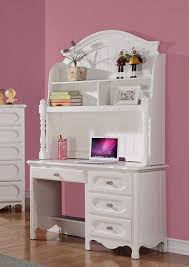 homelegance hayley writing desk hutch white