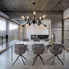 Lamp Decoration Design Nordic Industrial Loft Spider Design E100 Edison Chandelier Cafe Bar 79