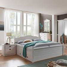 Schlafzimmer Einrichtung Vicenza Im Landhaus Design In Weiß Kiefer