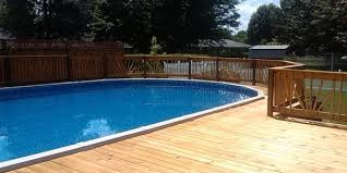 Above Ground Pool Decks Above Ground Pool Deck Plans