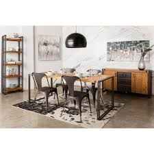 moe's home collection wn brooklyn dining table small in