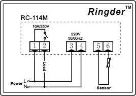 ringder rc 114m electronic digital bakery oven temperature wiring diagram ringder rc 114m electronic digital bakery oven temperature controller for heating price