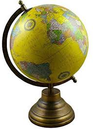 Royaltyroute Earth Globe World Map With Stand 12 5 Inches