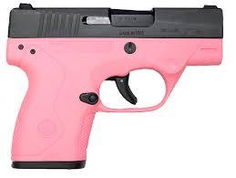 beretta bu9 nano pink black 9mm 3 inch 6rds and 8rds